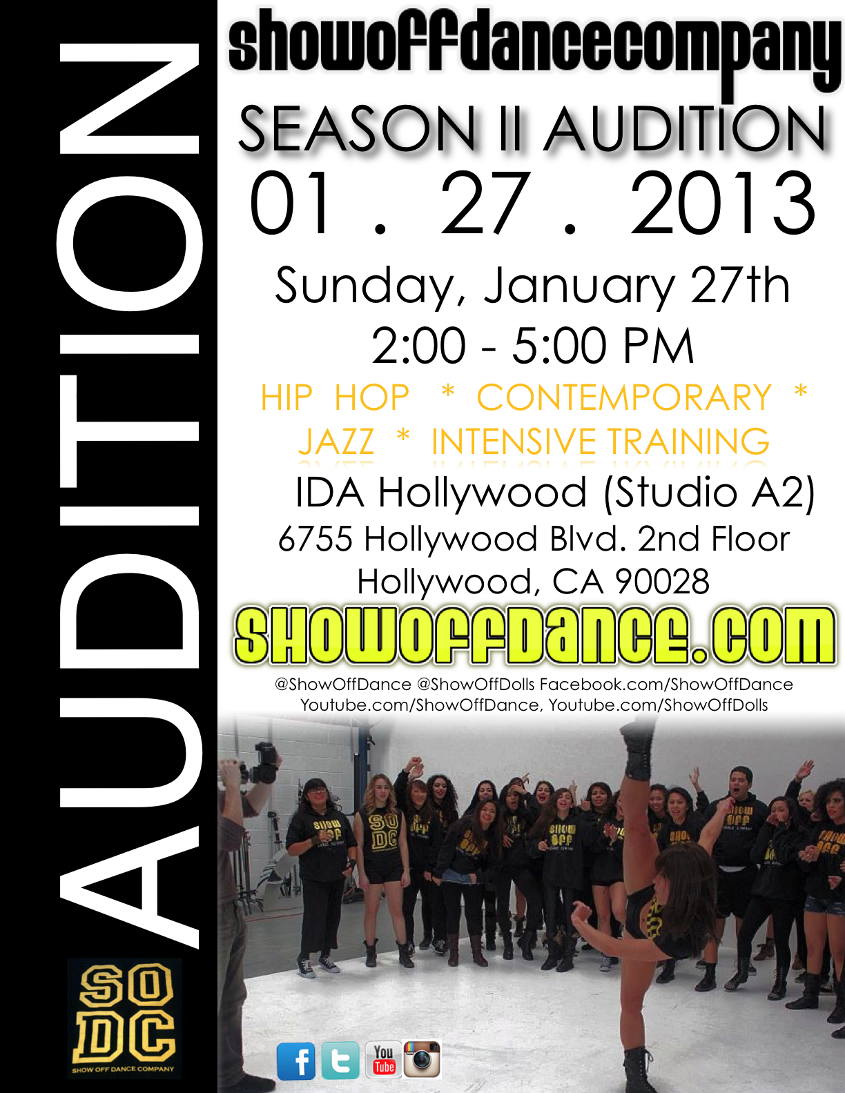 audition flyer muco tadkanews co